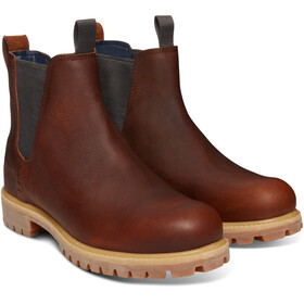 "Timberland Icon Collection Premium Chelsea Boots 6"" Heren, medium brown full-grain"